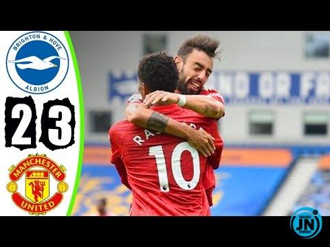 Premier League - Brighton vs Man United 2-3